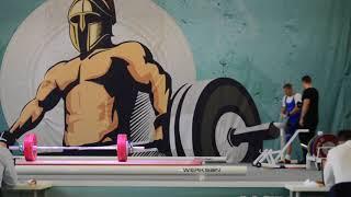 Максим Волков. Рывок, 3 подход – 137 кг. «Железная Лига Гераклиона-2017»