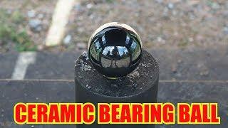 Giant Ceramic Bearing Ball Vs. World