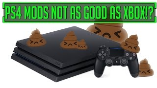 Xbox Fallout and Skyrim Mods Are BETTER Than PS4 MODS!?