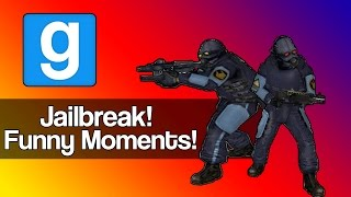 Gmod Jailbreak Funny Moments - (Prisoners vs. Guards, TOASTEY'S Instructions & More!)