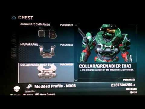 HALO:Reach-how to unlock max rank, 2 billion credits, and all armor