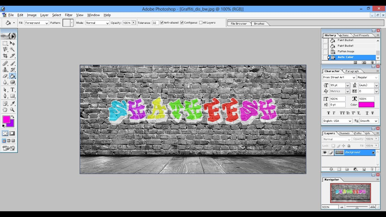 Photoshop tutorial graffiti text effect youtube photoshop tutorial graffiti text effect baditri Gallery