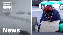 How Homeless People Survive the Polar Vortex and How to Help | NowThis
