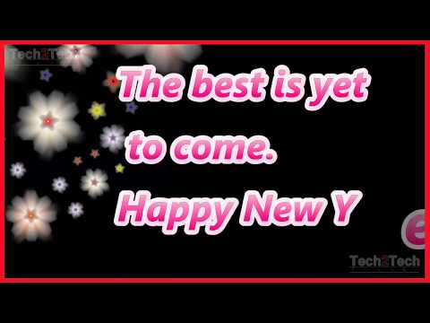 New Year Wishes And Quotes | Happy New Year 2019 Images
