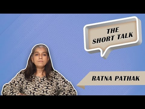 The Short Talk - Ratna Pathak Shah Opens Up About Women's Freedom