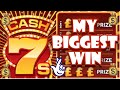 Cash 7's BIG WIN - Scratchcards From The National Lottery. My Best Card Win Ever 🤩💥