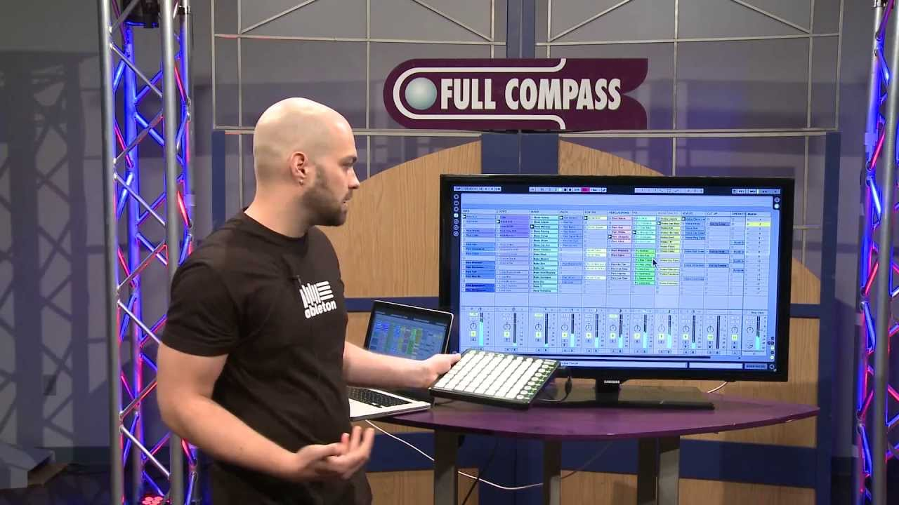 Ableton Live Music Production Software With Novation Launchpad, Overview |  Full Compass