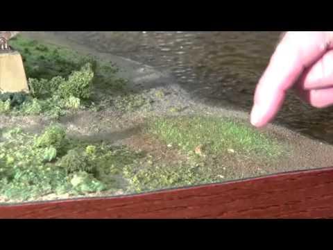 War World Scenics static grass | Model railroad bridge | Model Railroad Hobbyist | MRH
