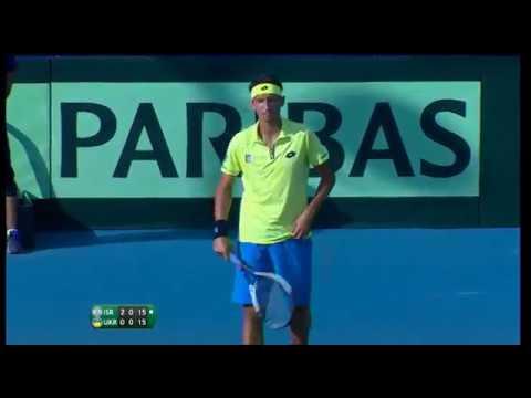 Davis Cup Israel-Ukraine Doubles part 1