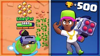 500 TROPHY BROCK! Best Tips/Tricks | Brawl Stars Gameplay