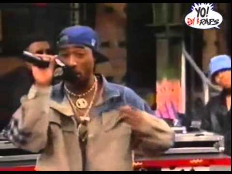2Pac - If My Homie Calls - Live