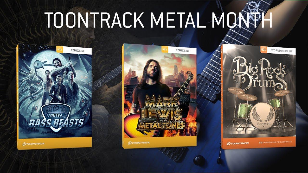 Metal Bass Beasts EZmix Pack