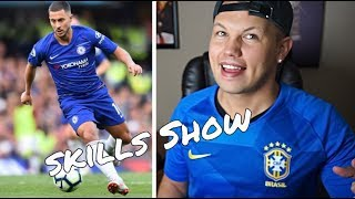 American Reacts to Most Humiliating Skills in Football!