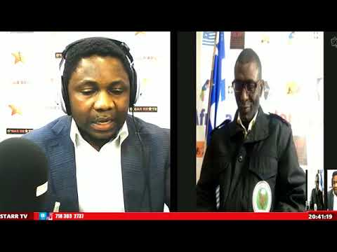 Dr Ebenezer Akwanga on Star Radio UK! Very Important! Watch.......