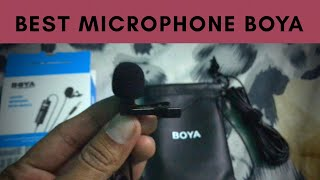 Best Microphone Boya BY - M1 For Best Audio Quality With Noise Reduction | Youtube Video