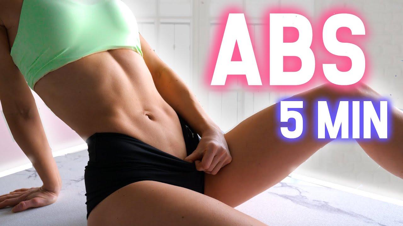 Get ABS in 5 Min/Day 🔥  Beginner Friendly!