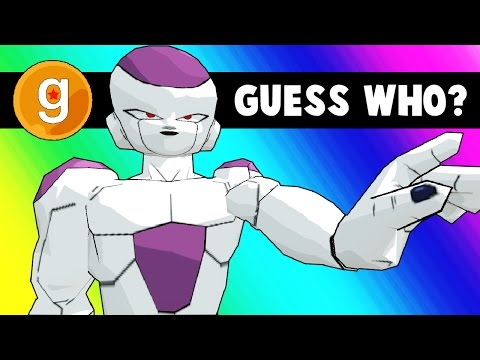 Thumbnail: Gmod Guess Who - Dragon Ball Z Edition! (Garry's Mod Funny Moments)