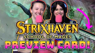 EXCLUSIVE GLHF Strixhaven Preview Card! | Magic the Gathering