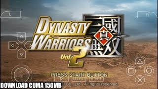 Cara Download Game Dynasty Warriors Vol. 2 PPSSPP Android