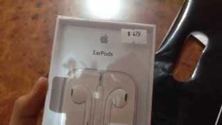 Unboxing de los Earpods de Apple en Español (MX)
