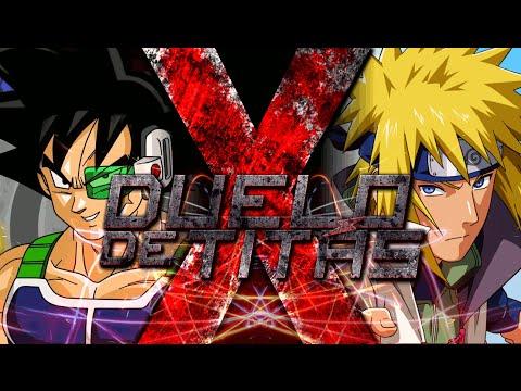 Bardock VS. Minato   Duelo de Titãs