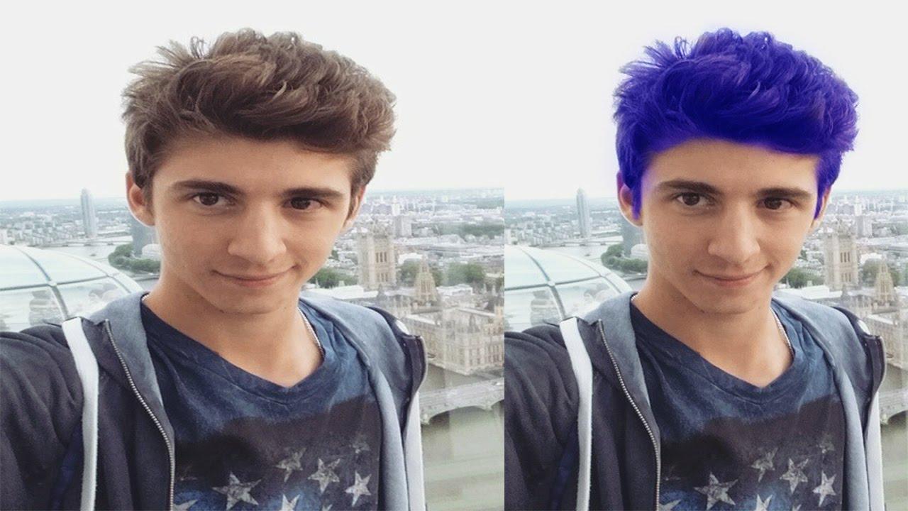 come cambiare il colore dei capelli con photoshop - YouTube 968c5cc7c161