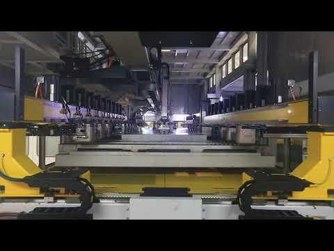 JIER Servo Line installed in SAIC GM Wuhan Plant
