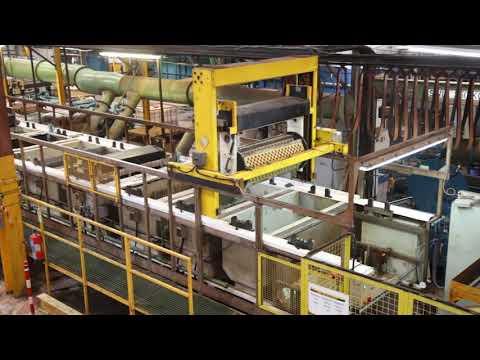 Process Plant And Equipment (Pro Quip) 21 Station 1200 Mm Barrel Zinc Plating Line