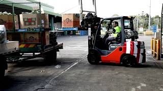 Toyota forklifts help Green Point Facility @ Sydney Markets
