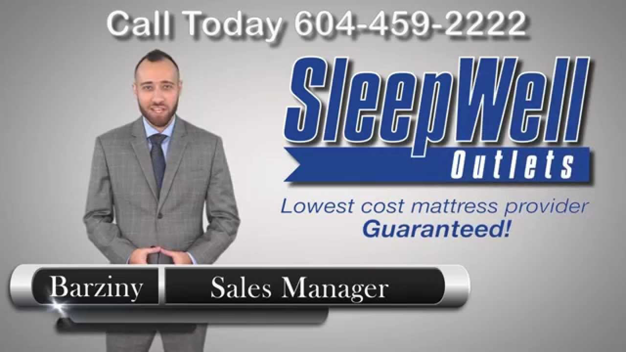 sleepwell outlets lowest cost mattress provider in western canada