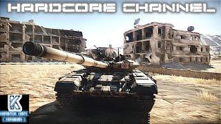 War Thunder - T90-A - Leopard =4= Современная война
