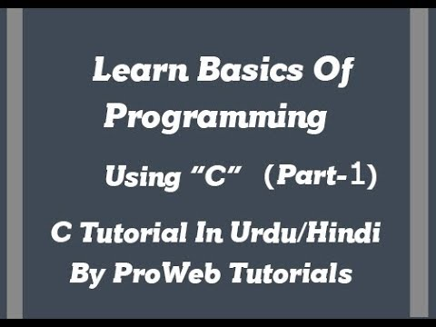 Learn Basics Of Programming Using C   Machine Language   Assembly Language   High Level Language