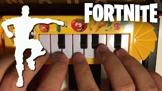 FORTNITE BEST MATES... but it's played on a $1 piano