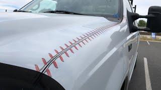 Baseball stitch wrap.