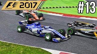 3 WIJD IN KRAPPE BOCHT - F1 2017 Career Mode #13 (Grand Prix Italië)