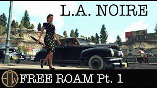 L.A. Noire - Free Roam - Homicide Desk (Part 1) [1080 HD]
