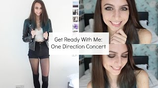 Get Ready With Me: One Direction Concert! | Sophie Foster