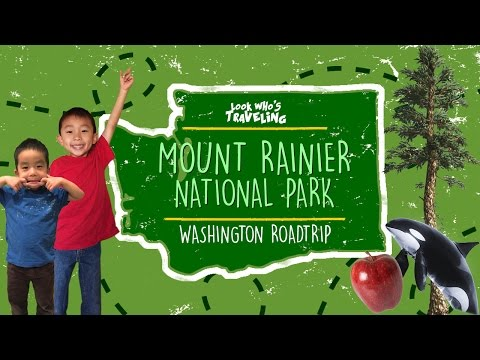 Mount Rainier National Park (Longmire and Paradise): Look Who's Traveling