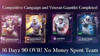 16 Dayz 90 OVR No Money  Spent  Team Episode12. Madden 19 Ultimate Team