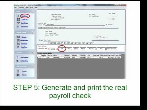 Simple Payroll Tax Calculator For Small Business - Youtube