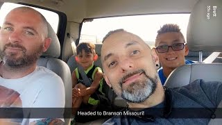 HEADED TO BRANSON MISSOURI! / VLOG