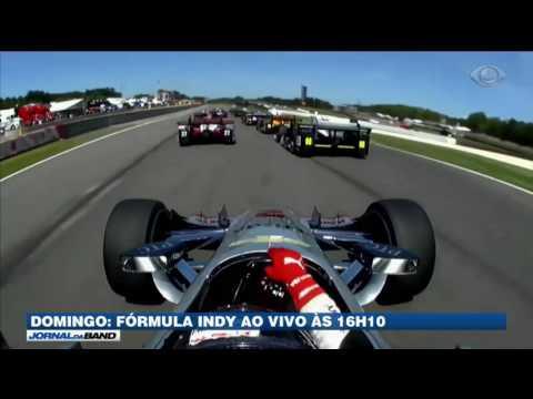 Band exibe Fórmula Indy às 16h10 neste domingo