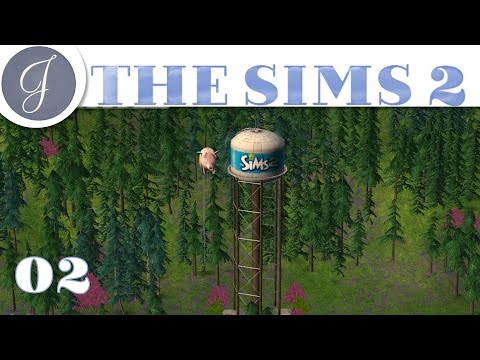 Let's Play The Sims 2 All In One ~ Gameplay  ▶Decorating The Hillside◀  Mods & CC ~ Part 02