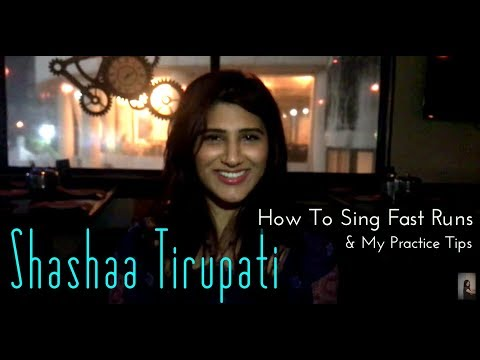 Tutorial | SHASHAA TIRUPATI | My Vocal Practice Tips (RIYAAZ)
