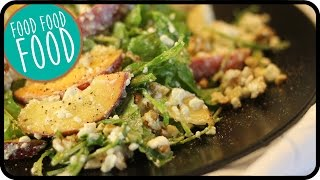 Summer Salad - Arugula And Peach  | Robins Food