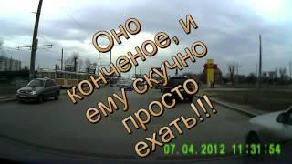 Беспредел в Харькове осторожно быдло водило
