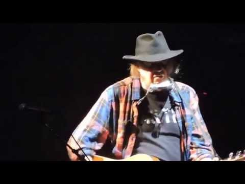 Neil Young After The Goldrush/Hey Hey, My My/Helpless Live 2015