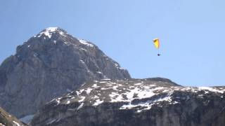Phil Collins We Fly So Close ..Paragliding Mangart