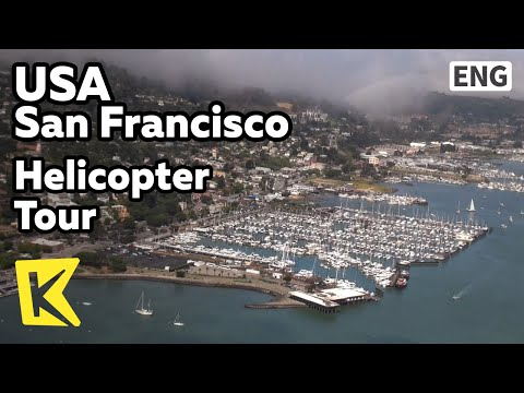 【K】USA Travel-San Francisco[미국 여행-샌프란시스코]헬기 투어/Helicopter Tour/Golden Gate Bridge/Alcatraz
