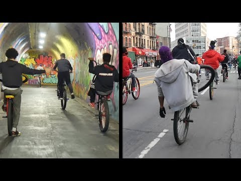 BIKELIFE POP UP RIDEOUT NYC (2-20-18)